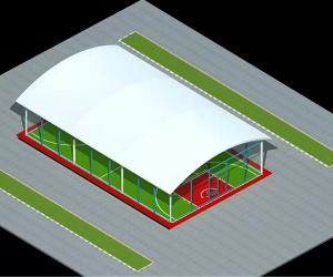 膜结构体育看台