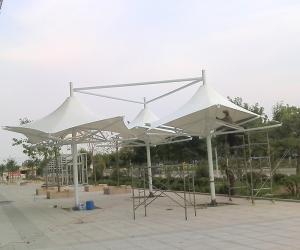 膜结构景观遮阳棚