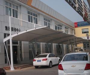 济南雪弗兰4S店膜结构车棚