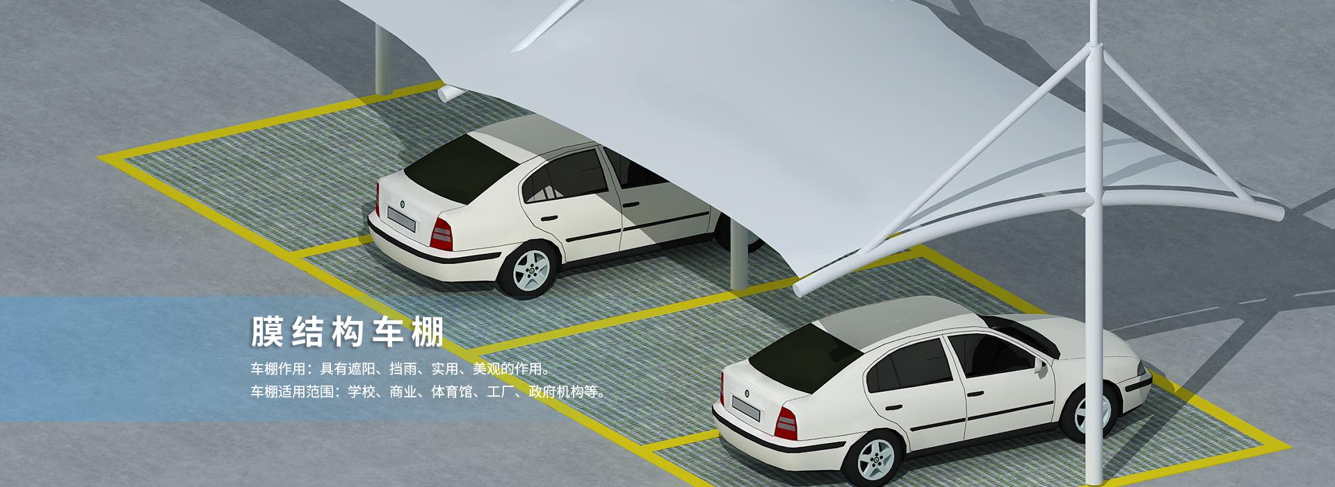 山东膜结构车棚